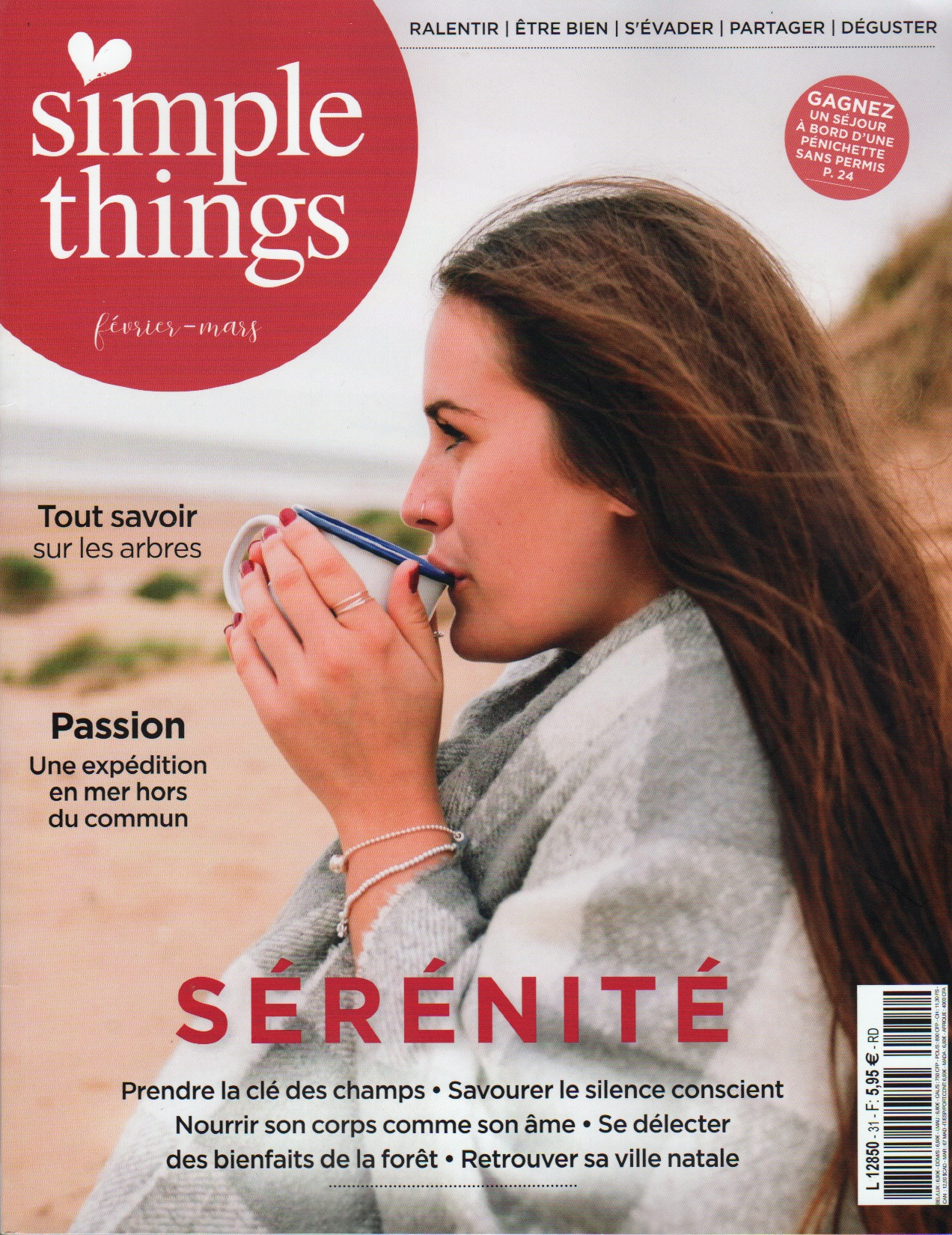 Couverture de Simple Things Magazine
